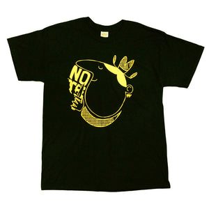 NOTE Knife Cowboy black/yellow T shirt