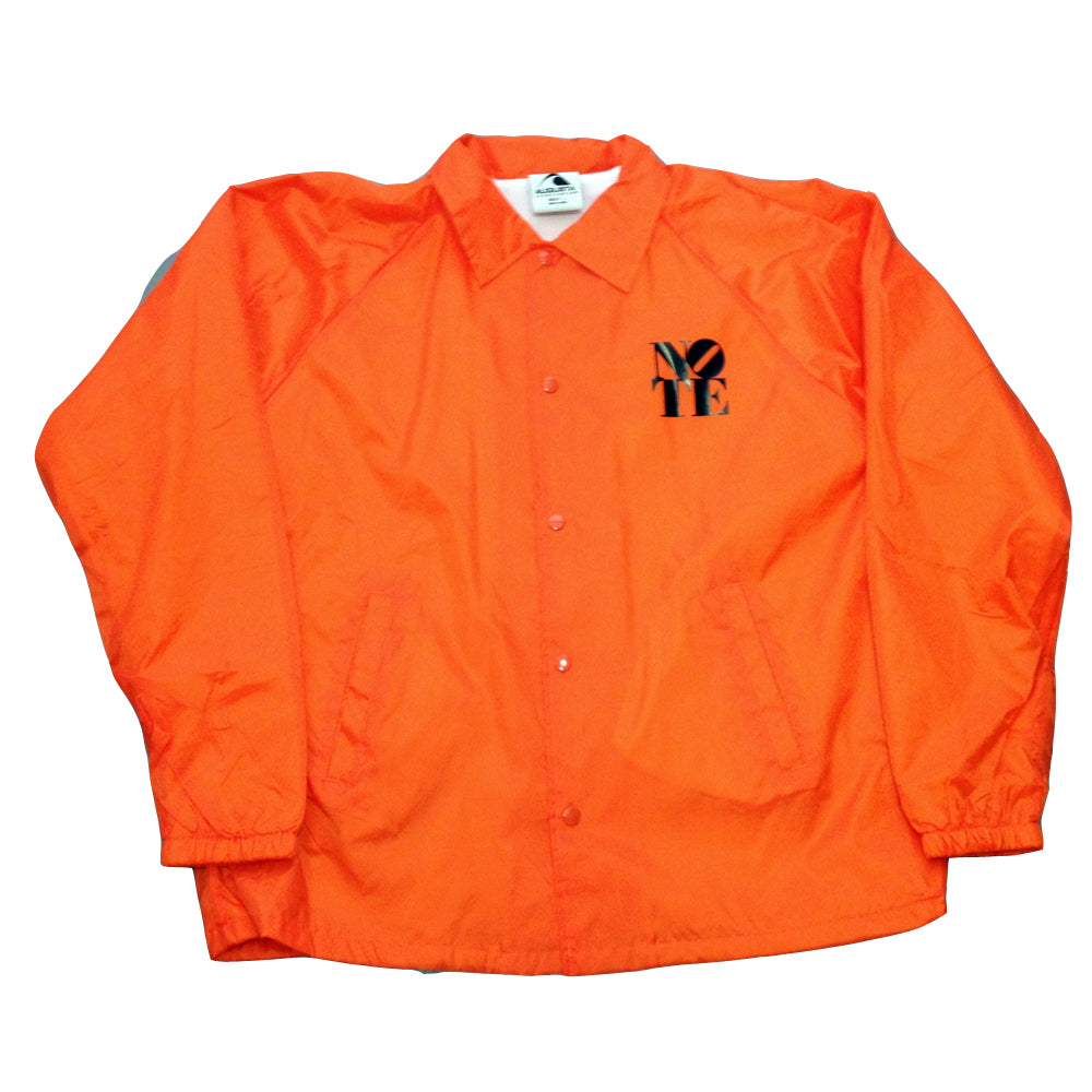 NOTE orange Coach Jacket
