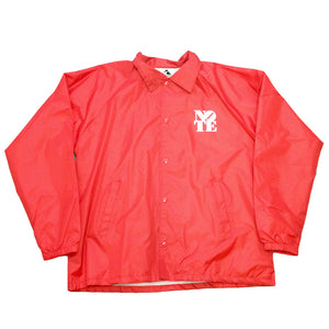 NOTE red Coach Jacket
