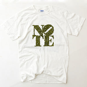 NOTE Swarm white T shirt
