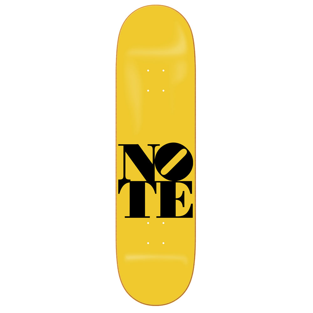 NOTE Mellow Yellow deck 8.38