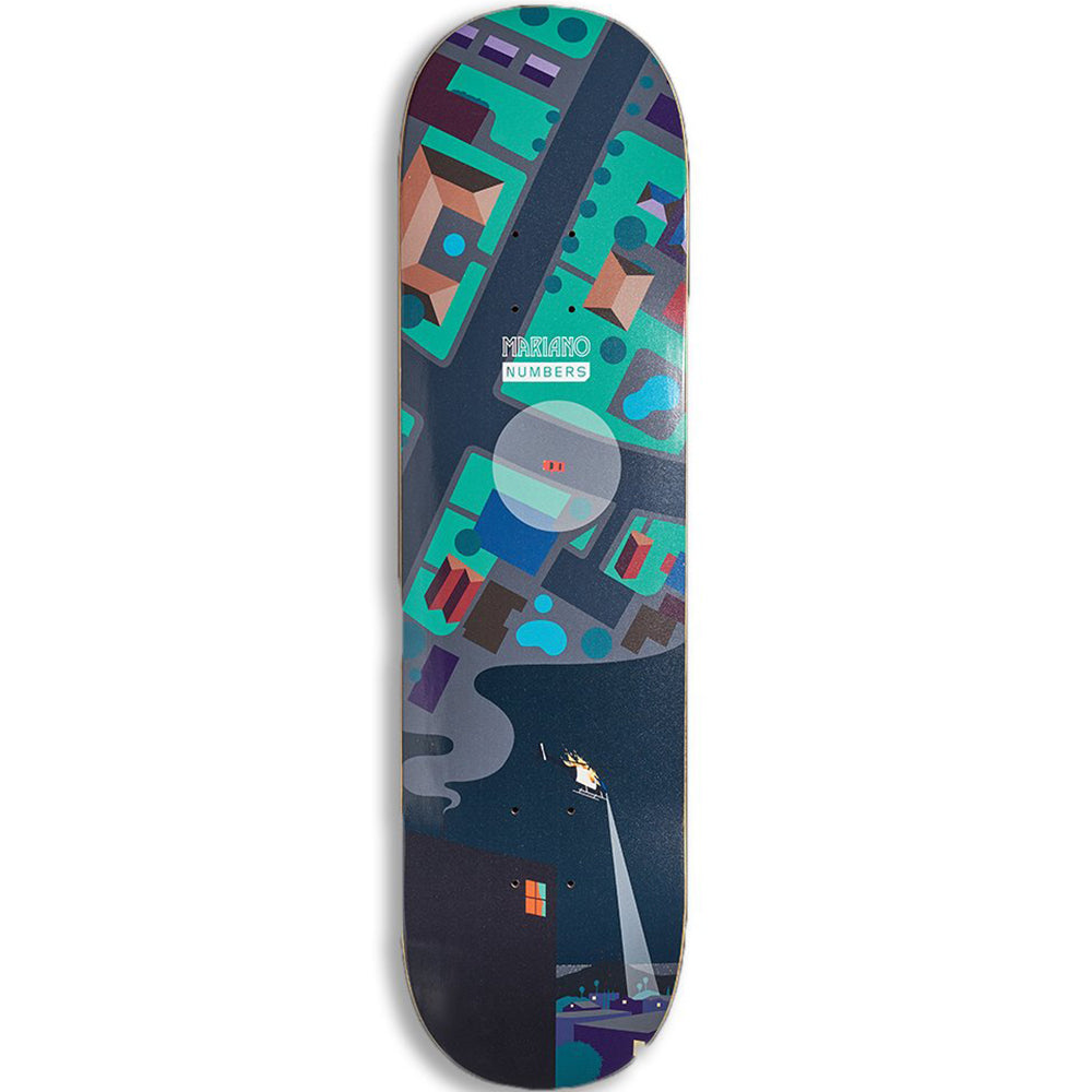 Numbers Mariano Edition 6 Series 1 deck 8.4