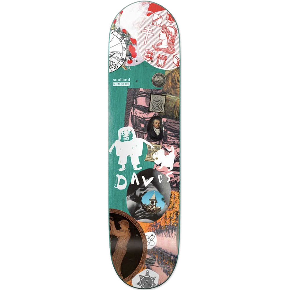 Numbers x Soulland Kyron Davis Edition 7 deck 8.2
