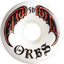 Load image into Gallery viewer, Orbs Specters Whites wheels 56mm