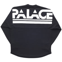 Load image into Gallery viewer, Palace Lightweight black crew