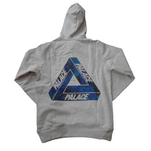 Load image into Gallery viewer, Palace One Wave Blue grey hood