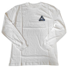 Load image into Gallery viewer, Palace One Wave Blue white longsleeve T shirt