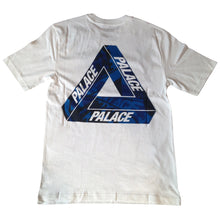 Load image into Gallery viewer, Palace One Wave Blue white T shirt