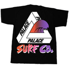 Load image into Gallery viewer, Palace Surf Co black T shirt