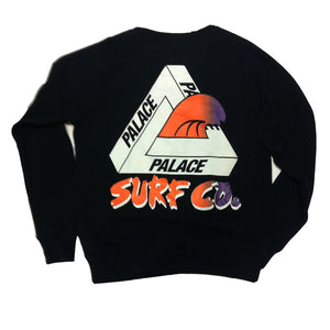 Palace Surf Co black crew