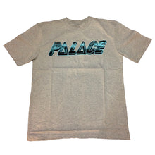 Load image into Gallery viewer, Palace Ferg Pyramids iced out Grey T shirt