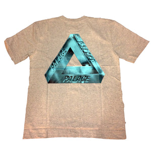Palace Ferg Pyramids iced out Grey T shirt