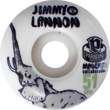 Load image into Gallery viewer, Paradise Lannon Elephant Magenta Collaboration 51mm wheels