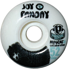 Load image into Gallery viewer, Paradise Panday Bear Magenta Collaboration 52mm wheels