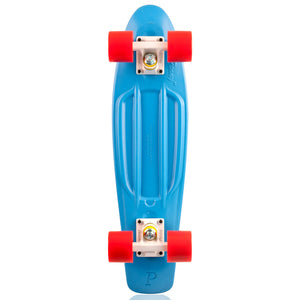 "Penny skateboard 22"" blue/white/red complete cruiser"
