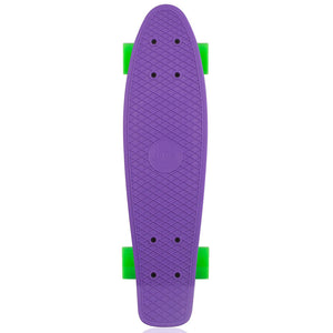 "Penny skateboard 22"" purple/yellow/green complete cruiser"