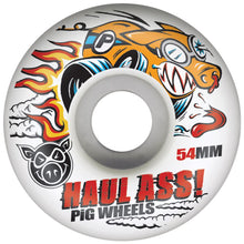 Load image into Gallery viewer, Pig Haul Ass 54mm white wheels