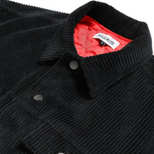 Load image into Gallery viewer, Piilgrim Elevator Corduroy jacket black