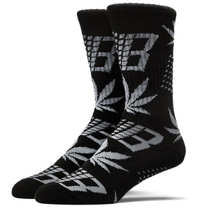 HUF x Bronze black/grey socks