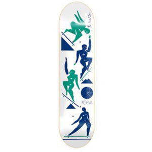 "Polar Cut Out White 8.5"" deck"