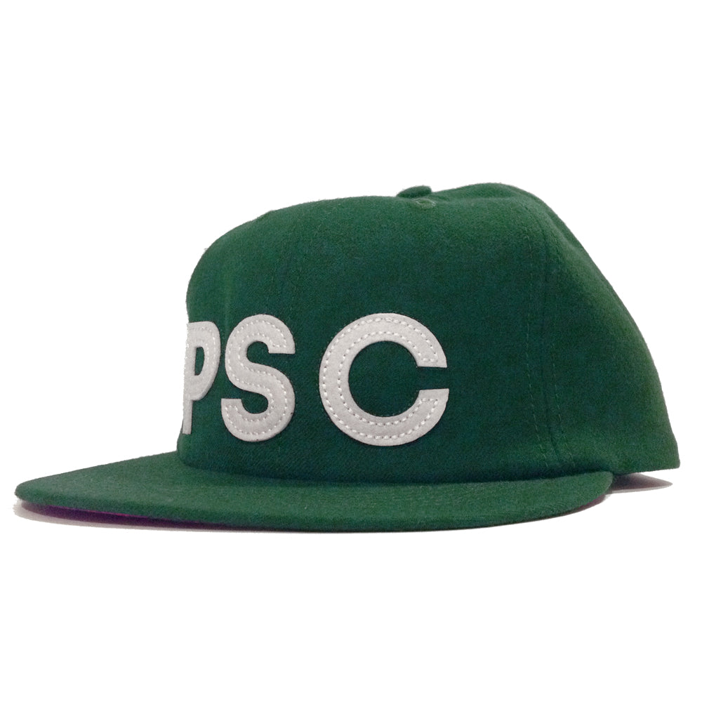 Polar PSC Light Wool green 6 panel cap