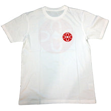 Load image into Gallery viewer, Polar Fill Logo Happy Sad white T shirt
