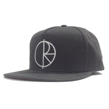 Load image into Gallery viewer, Polar Stroke Logo graphite snapback cap