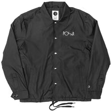 Load image into Gallery viewer, Polar Stroke Logo Patch Coach black jacket