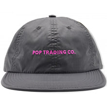 Load image into Gallery viewer, Pop Trading Company Flexfoam 6 panel hat anthracite