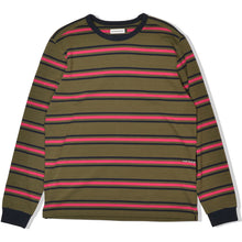 Load image into Gallery viewer, Pop Trading Company Harold Stripe longsleeve combat/pink