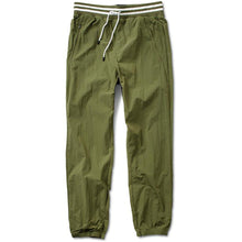 Load image into Gallery viewer, Primitive Creped Warm-Up olive pants