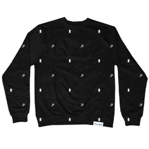 Primitive x Grizzly Icon black crew