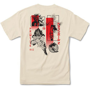 Primitive x Dragon Ball Z Collage Tee cream