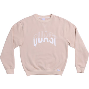 Quasi Arc Crew Sweat oatmeal