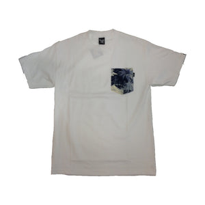 The Quiet Life Aloha white/blue pocket T shirt