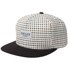 Load image into Gallery viewer, The Quiet Life Cabin white/black snapback cap
