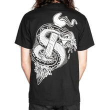 Load image into Gallery viewer, Rebel8 x SLB Crucified black T shirt