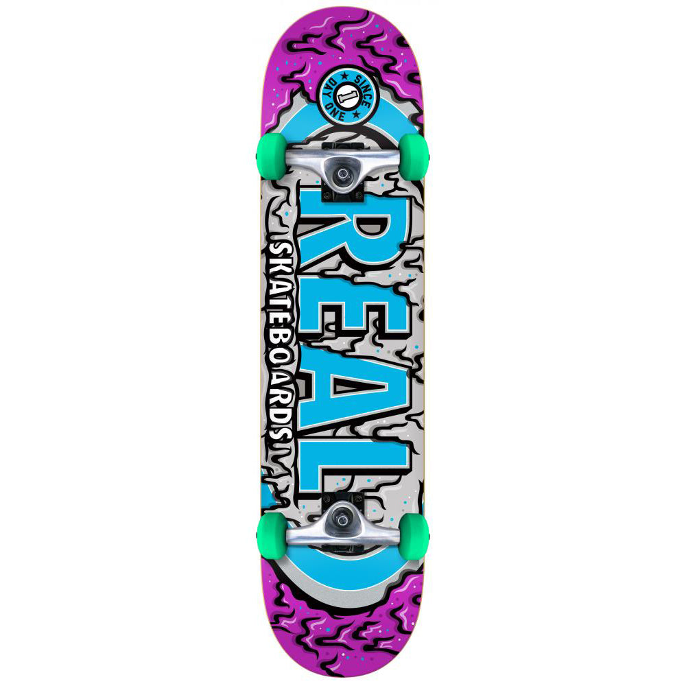 Real Ooze Oval Purple/Blue complete 8