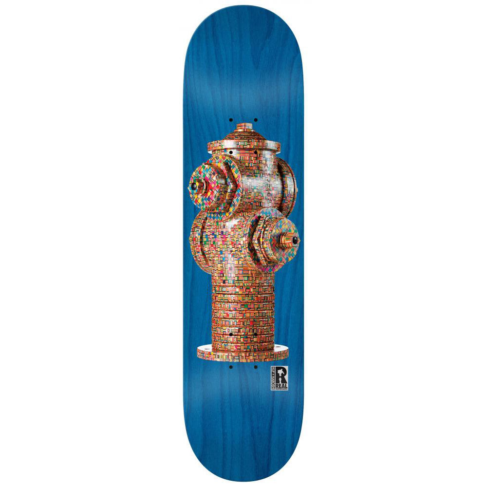 Real Huf x Haroshi Hydrant blue deck