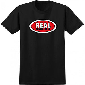 Real OG Oval black T shirt