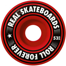 Load image into Gallery viewer, Real Team Oval Heatwave mini complete skateboard purple 7.3""