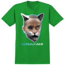 Load image into Gallery viewer, Real x Odd Future Fergolfson kelly green T shirt