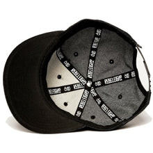 Load image into Gallery viewer, Rebel8 Life Lessons denim snapback cap