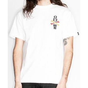Rebel8 x SLB Resurrection white T shirt
