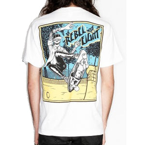 Rebel8 Suicide white T shirt