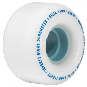 Ricta Clouds 78a white/blue wheels 54mm