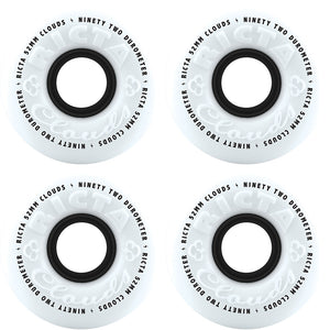 Ricta Clouds 92a white/black wheels 52mm