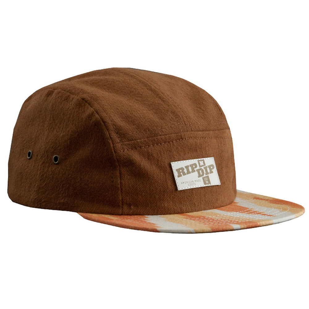 Ripndip Cappucino Camp 5 panel cap