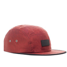 Load image into Gallery viewer, RIPNDIP Burgundy Camp 5 Panel Hat