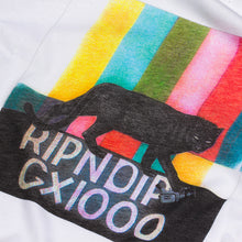 Load image into Gallery viewer, RIPNDIP GX1000 Panther Bars white T shirt